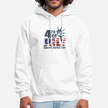 Th Of July 4 TH OF JULY INDEPENDENCE DAY - Men's Hoodie