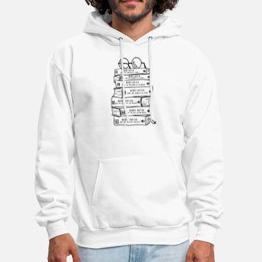 Book Harry Potter Book Lovers Stack of Books Baseball T - Men's Hoodie