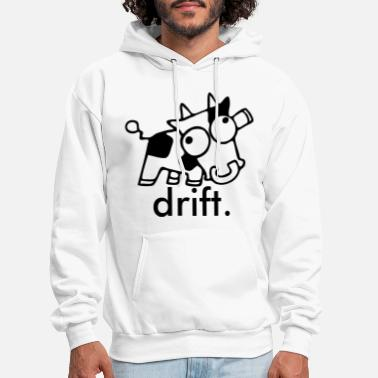 Just Drift It Mens Adults Funny Hoodie