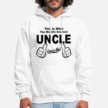 Uncle Worlds Greatest Uncle Looks Like - Men's Hoodie