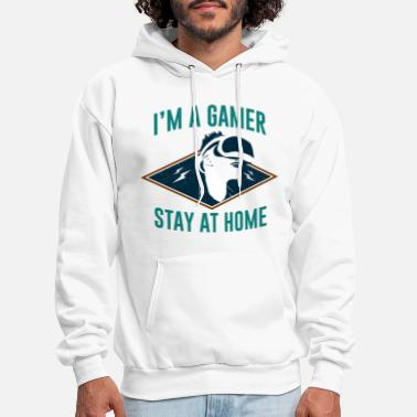 Homepage I'm Gamer Stay at Home - Men's Hoodie