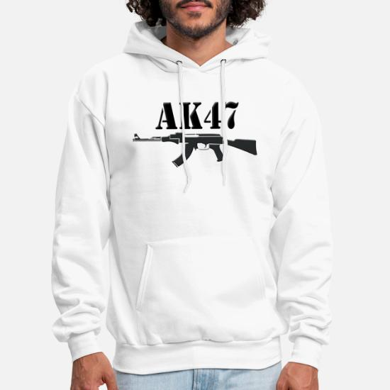 AK-47 AK47 Funny Sweater Pullover Hoodie S-3XL Choose Color
