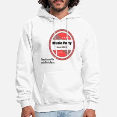 music party design - Men's Hoodie