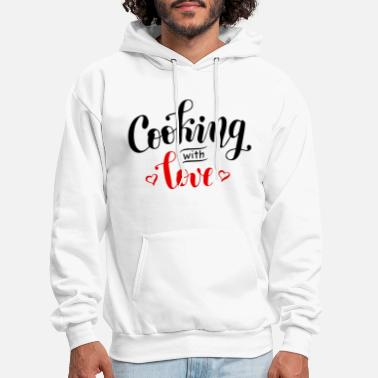 Cooking with love - Men's Hoodie