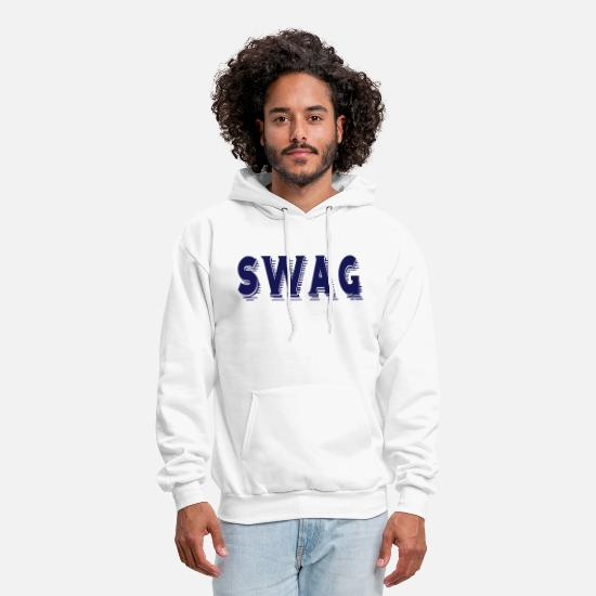 Swag Hoodies & Sweatshirts - SWAG  - Men's Hoodie white
