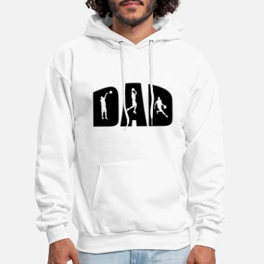 Best Father BASKETBALL DAD - Men's Hoodie