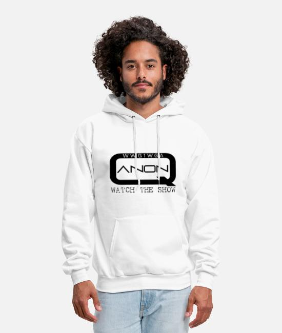 Q Hoodies & Sweatshirts - Q TV - Watch The Show - Men's Hoodie white