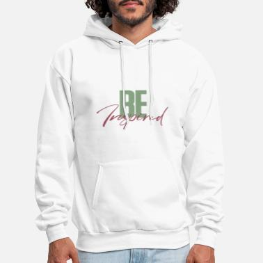 Self-confidence Be Inspired - green red - Men's Hoodie