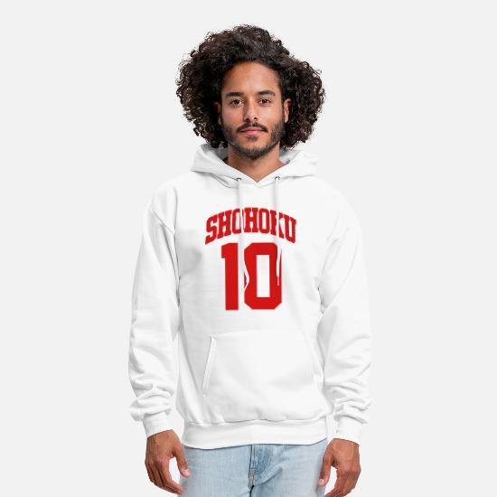 8671cb3ab4e Chicago Bulls Hoodies & Sweatshirts - Shohoku 10 Shirt - Men's Hoodie white