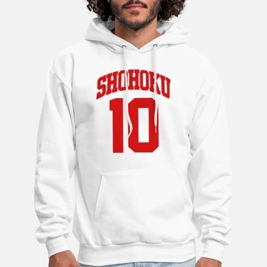 626668d49f3 Shohoku 10 Shirt Men's Hoodie   Spreadshirt