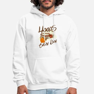 Cool Basketball Hoops Every Day Perfect Basketball Gift - Men's Hoodie