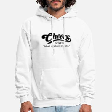 Boston Bruins Cheers I Dont Even Know My Name Boston Bar TV Funn - Men's Hoodie