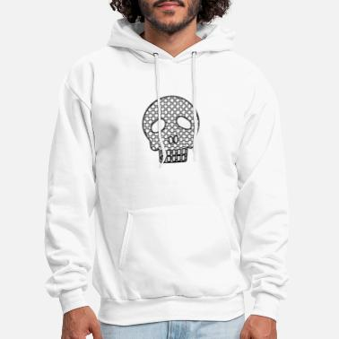 Skull And Bones Skull - Men's Hoodie