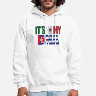 Mexican And Cuban DNA Mix Heritage Gift - Men's Hoodie