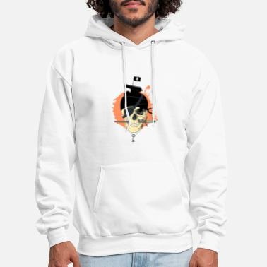 Pirate Flag Pirate flag pirate head - Men's Hoodie