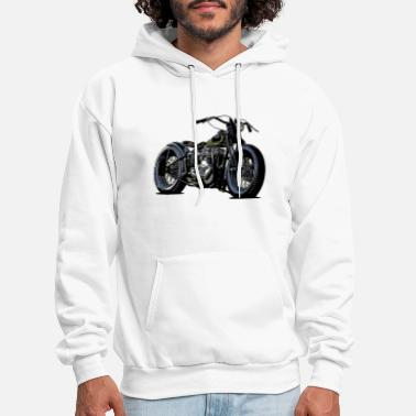 Built For Speed Mens Biker Engine Hoodie Motorbike Motorcycle Bike Chopper Top