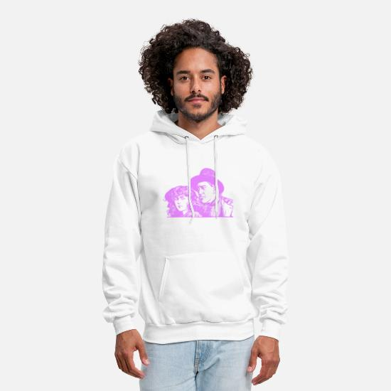 Relationship Hoodies & Sweatshirts - Valentines Day Couple Design - Men's Hoodie white