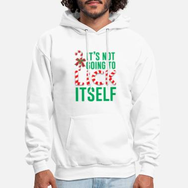 Candy Cane candy party christmas birthday present - Men's Hoodie