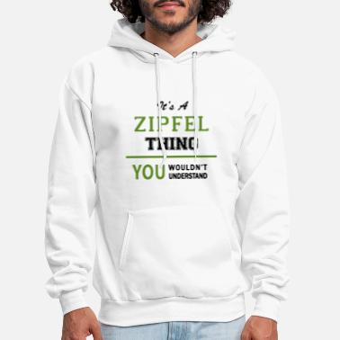 It is a zipfel thing you wouldn t understand irish - Men's Hoodie