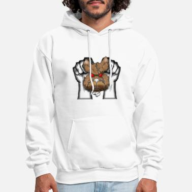 pocket punch color - Men's Hoodie