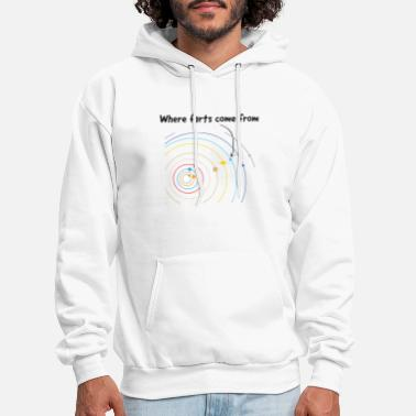 Where Farts Come From - Men's Hoodie