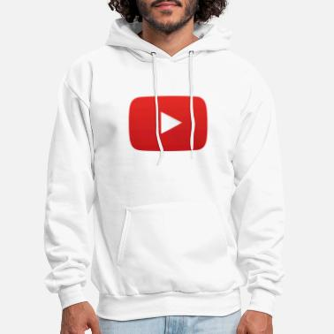 Youtube YouTube icon full color png - Men's Hoodie