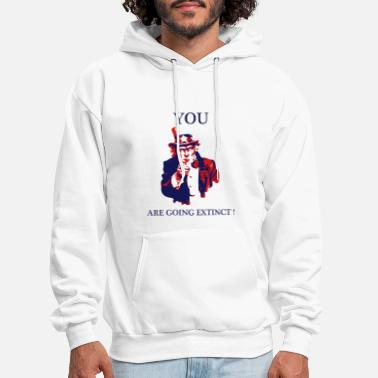 You are going extinct! - Men's Hoodie