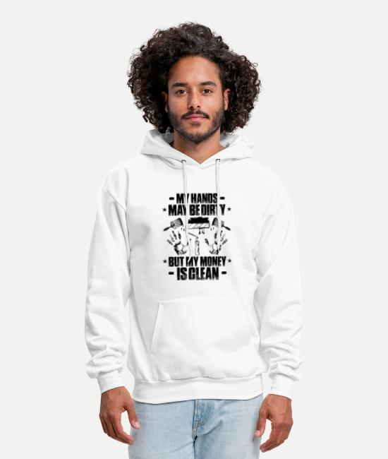 Decorator Hoodies & Sweatshirts - Painter House Painter Decorator Painting Gift - Men's Hoodie white