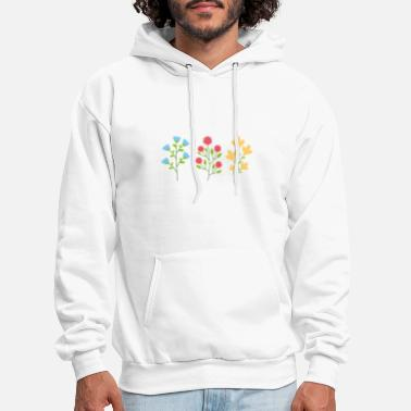 Demo Environmental protection gift environment flowers - Men's Hoodie