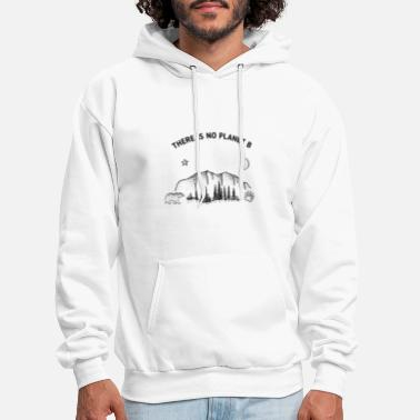 Planet There is no planet B - Men's Hoodie