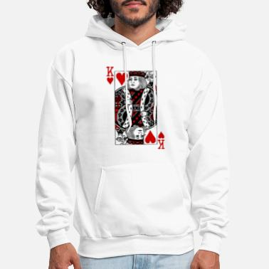Valentine's Day king of hearts Valentines Day - Men's Hoodie