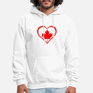 National Holidays Canada Day! Canadian National Holiday Gift Idea - Men's Hoodie
