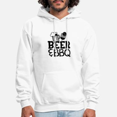 Beer, BBQ, and Grilling - Men's Hoodie