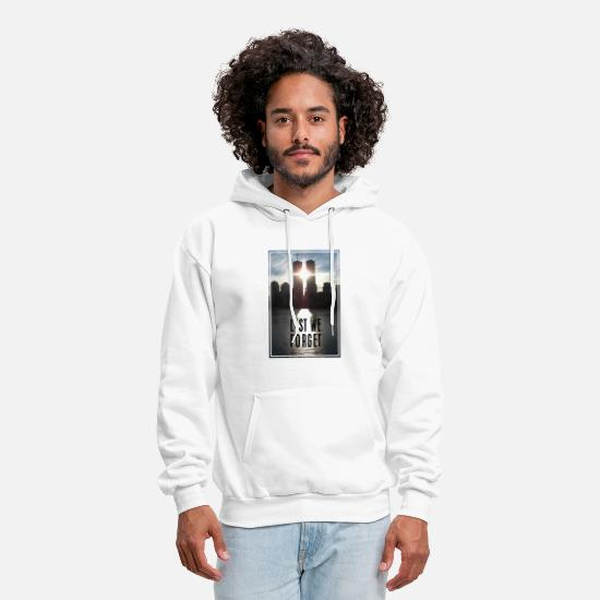 Eleven Hoodies & Sweatshirts - 09/11 Lest We Forget - Men's Hoodie white
