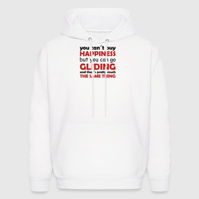 happiness gliding - Men's Hoodie