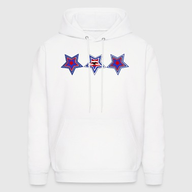 Stars and Stripes - Men's Hoodie