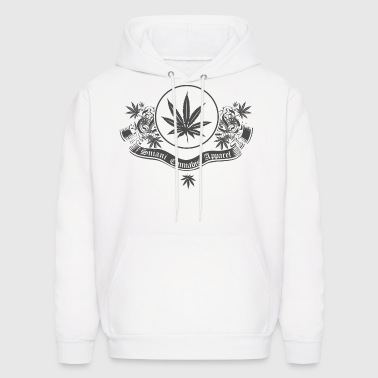 White Sniani Cannabis Apparel Hoodies - Men's Hoodie
