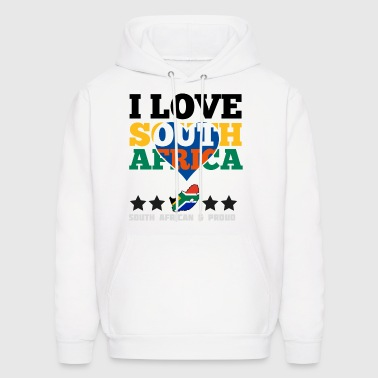 I Love south africa - Men's Hoodie