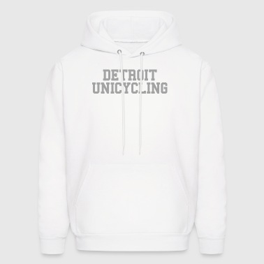Detroit Unicycling - Men's Hoodie