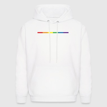Gay Rainbow Symbol - Men's Hoodie