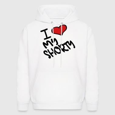 I Heart My Shorty With Heart - Men's Hoodie