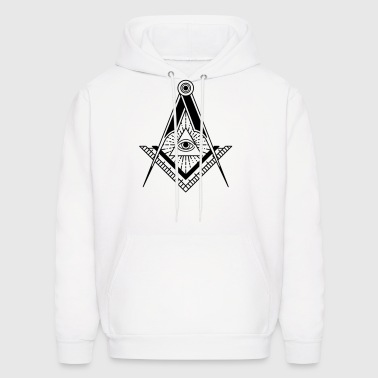 All Seeing Eye (Black) - Men's Hoodie