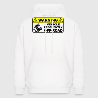VEHICLE FREQUENTLY OFF ROAD - Men's Hoodie