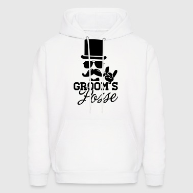 Groom Wedding Marriage Stag night bachelor party - Men's Hoodie