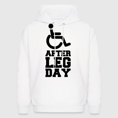 After Leg Day (Gym/Bodybuilding) - Men's Hoodie