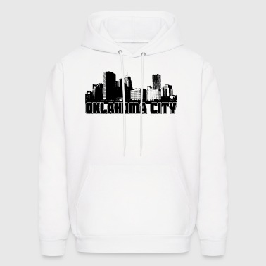Oklahoma City Skyline - Men's Hoodie