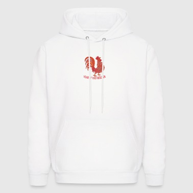 Year of Rooster - Happy new year 2017 - Men's Hoodie