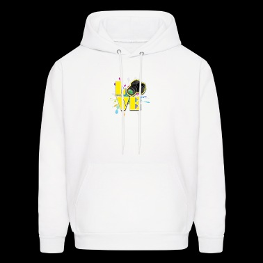 Love for Photography - Men's Hoodie