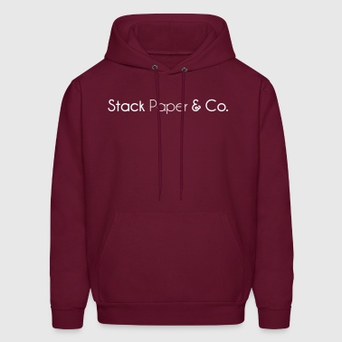stack_paper_and_company - Men's Hoodie