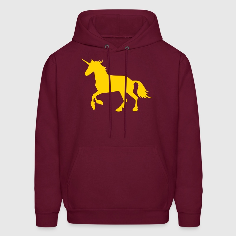Unicorn Design Vector - Men's Hoodie